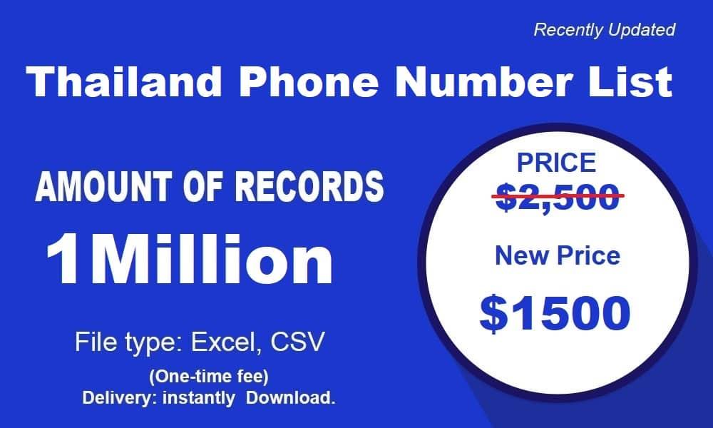 Thailand-Phone-Number-List